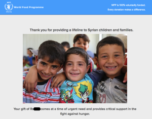 Providing lifeline for Syrian children and families