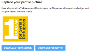 Replace profile picture to attract more people to the campaign