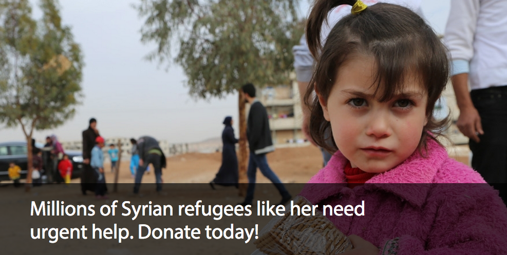 Social Media help refugees