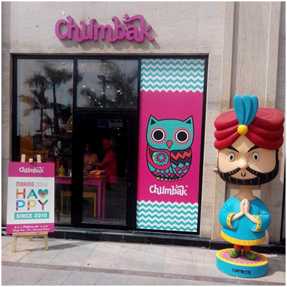 Chumbak marketing activities