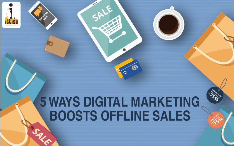 boost offline sales through digital marketing