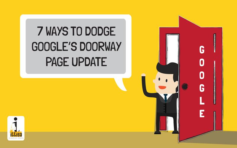 Google Doorway Page Update