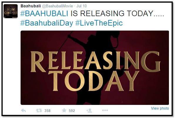 baahubali hashtag