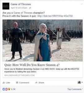Game of Thrones uses Social Media - Ittisa Blog 1