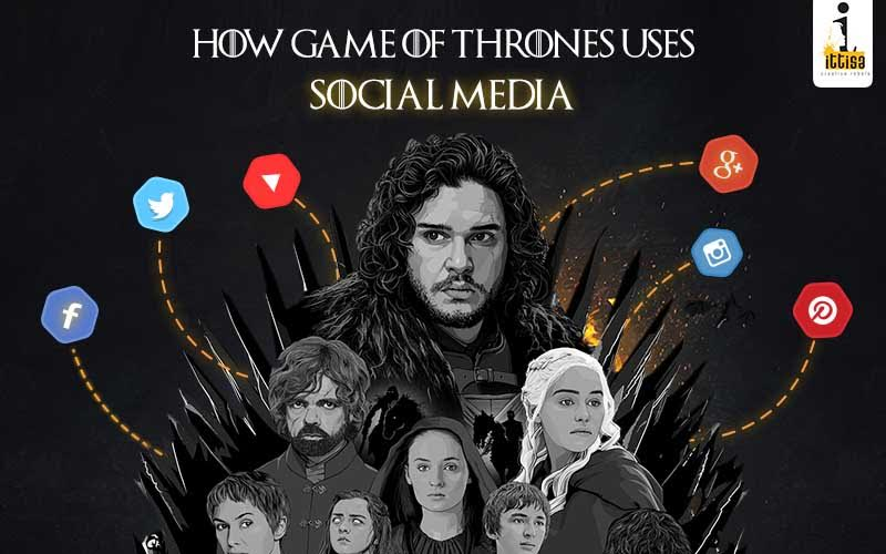 Game of Thrones uses Social Media - Ittisa Blog cover