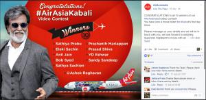 AirAsia Kabali promotion strategy