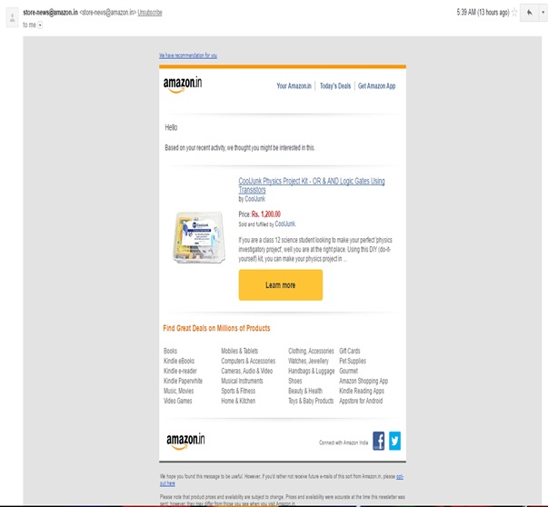 email-marketing-by-amazon