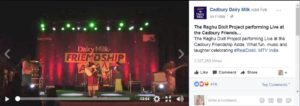 Cadbury Dairy Milk#RealDosti Friendship Day Campaign performance by Raghu Dixit