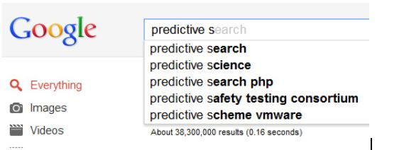 enhanced predictive keyword