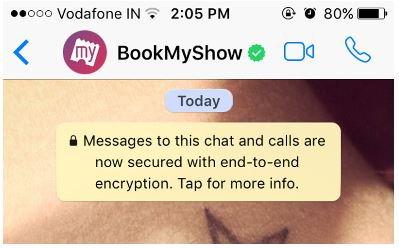bookmyshow whatsapp busniness