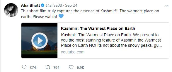 kashmir tourism marketing campaign