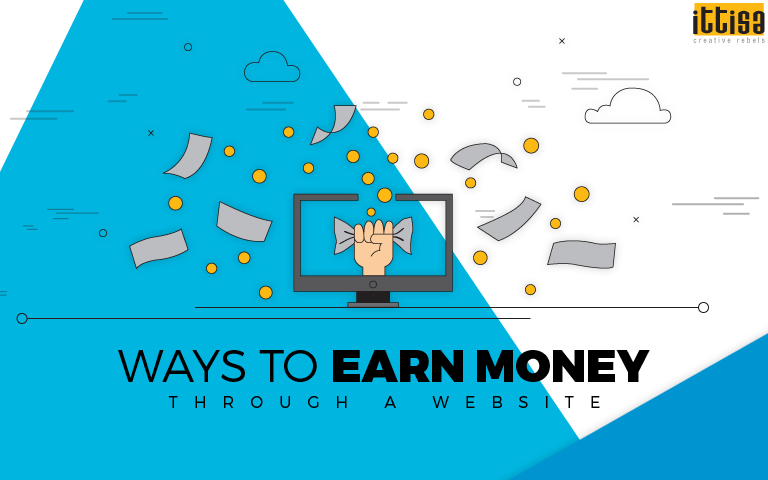 Ways to earn money through a website