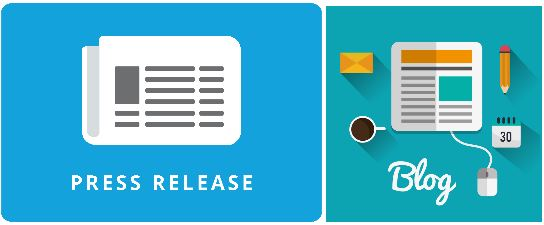press release vs blog