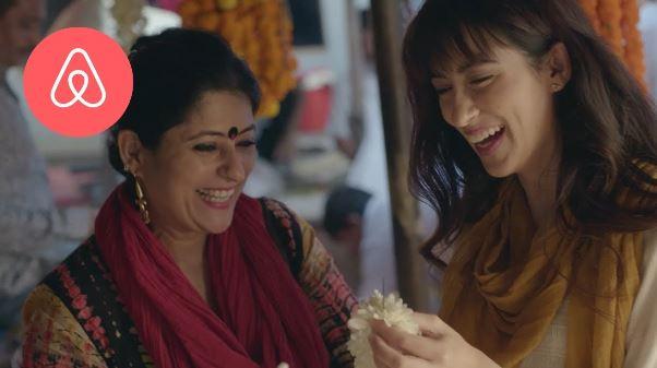 Airbnb Diwali social media campaign
