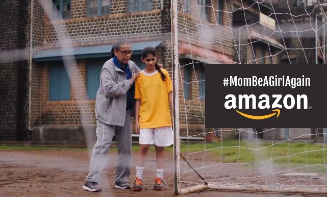 Mom Be A Girl Again Amazon campaign