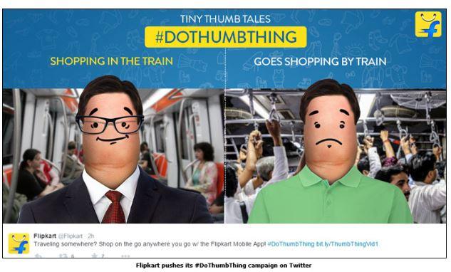 flipkart social media ads