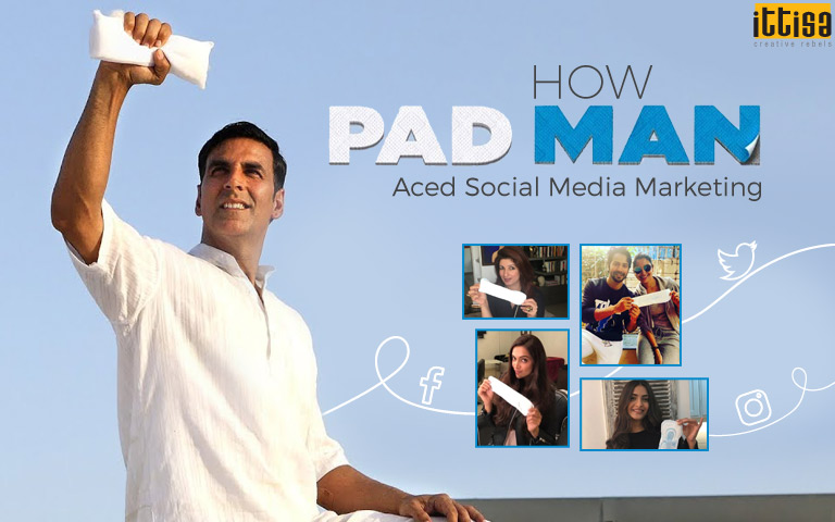 Padman Social Media Marketing
