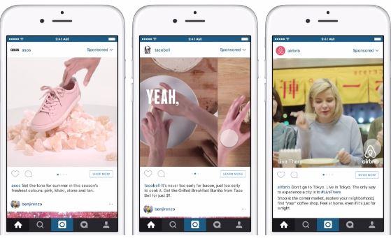 Instagram Video Carousel