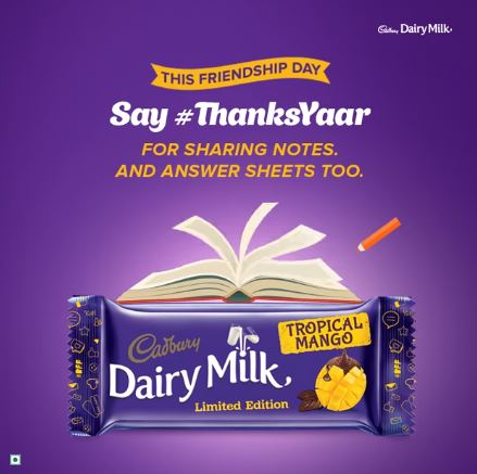 Dairy Milk Say Thanks Yaar