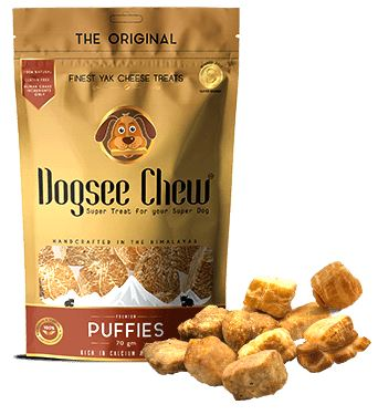 dogsee chew product packaging