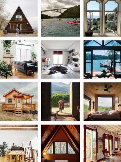 Airbnb newsfeed