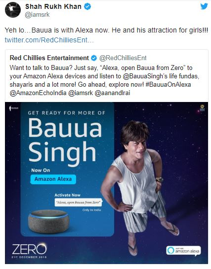 Red Chillies Partnering with Amazon Alexa