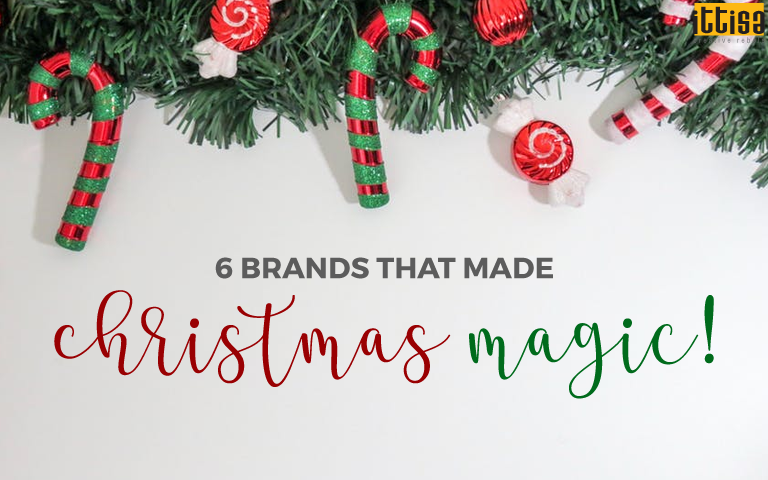 Brands that made Christmas magic