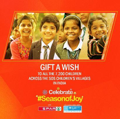 Spar India Season Of Joy GiftAWish