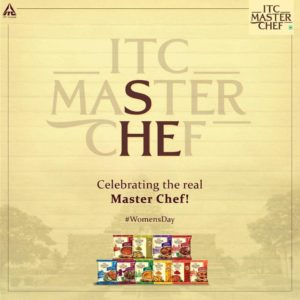 ITC celebrating the real Master Chef