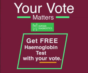 Humain Diagnostics vote campaign