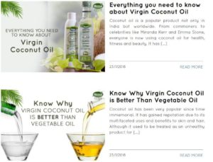 KLF market for virgin oil