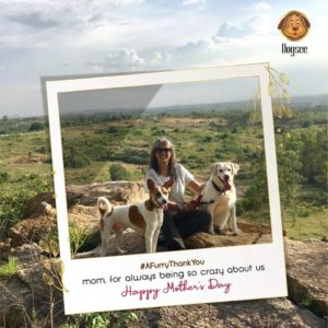Dogsee Chew mothers day campaign