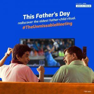 Bajaj Allianz facebook campaign