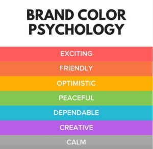 brand color psychology