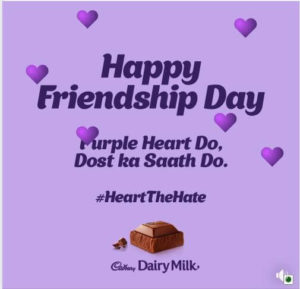 Cadbury happy friendship day