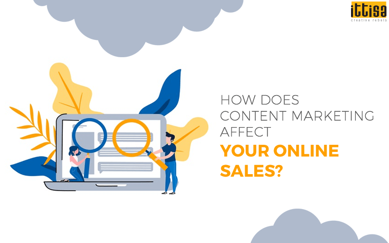 content marketing for online sales