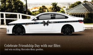 Mercedes Benz friendship post