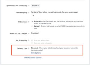 google Ads setting