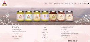Himalayan natives web design
