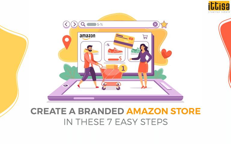create amazon branded store