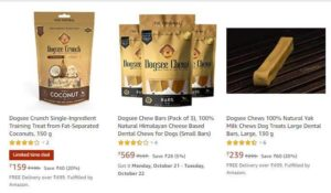 Amazon Dogsee Product Pricing