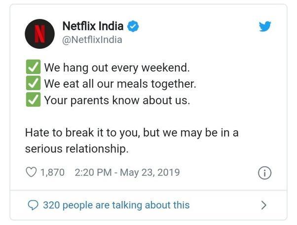 Netflix Twitter Account