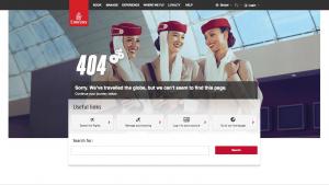 404 website page design